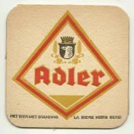 Ancien Sous Bocks Belge  Brasserie ADLER 1 (grand Format) - Sous-bocks