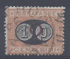 ITALIE - 1890/91 - TAXE N° 22 - OBLITERE - - 1878-00 Humbert I.