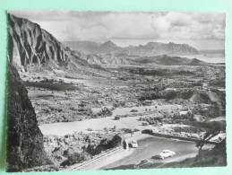 """Photo Extraite Du Fim """" HAWAI"""", De Jacques CHEGARAY, Le NUANUU PALI Dans L'ile D'OAHU - Oahu"""