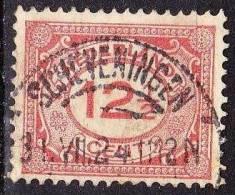 1921-22 Cijferzegels 12½ Cent Rood NVPH108 Met Afstempeling SCHEVENINGEN 5 - Poststempels/ Marcofilie