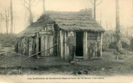 14 - CPA Saint Sever - Une Habitation De Bûcherons Dans La Forêt - France