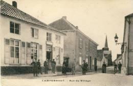 Kampenhout / Campenhout - Rue Du Village - Geanimeerd ( Voir Verso ) - Kampenhout