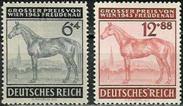 DEUTSCHES REICH..1943..Michel#  857-858...MLH. - Duitsland