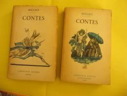CONTES De BOCCAGE En Deux Volumes. Curiosa- 1936 - Grund - Libri, Riviste, Fumetti