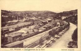 19 - CPA Tulle - Vue Générale De La Gare - Tulle