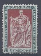 ITALIE - 1928 - N° 215 - XX - TB - - 1900-44 Victor Emmanuel III