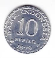 @Y@  Indonesie  10 Rupiah 1979   UNC     (C58) - Indonésie