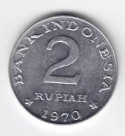 @Y@  Indonesie  2 Rupiah 1970   UNC     (C33) - Indonésie