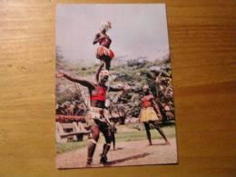 Cote D'ivoire Abidjan Groupe De Danseurs Dans Le Parc - Costa De Marfil