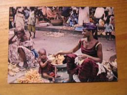 Cote D´ivoire Abidjan  Marchande De Bananes - Costa De Marfil