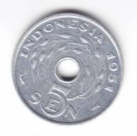 @Y@  Indonesie  5  Sen 1951  UNC     (C61) - Indonésie