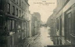 N°28001 -cpa Caen -crue De L'Orne 1910- Rue D'Auge- - Caen