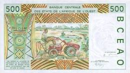WEST AFRICAN STATES P. 710Ke 500 F 1995 UNC - Senegal