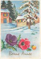 Bonne Année. Carte Postale De 1973. M.D., Paris. Série N°7670 - Año Nuevo