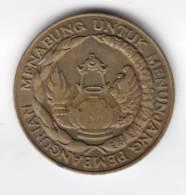 @Y@  Indonesie 10 Rupiah 1974  AUNC     (C97) - Indonésie