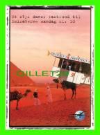 CHAMEAUX, CAMELS, DROMADAIRES -  TRANSPORT LOGISTIKER - - Cartes Postales