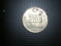 Turquia 250 Bin Liras 2002(4800) - Turquia