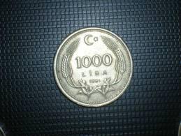 Turquia 1000 Liras 1991 (4804) - Turquia