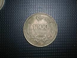 Turquia 1000 Liras 1993 (4805) - Turquia