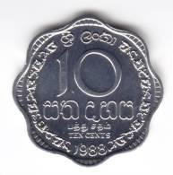 @Y@   Ceylon / Sri Lanka  10 Cents 1988  UNC     (C31) - Sri Lanka