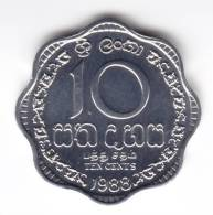 @Y@   Ceylon / Sri Lanka  10 Cents 1988  UNC     (C31) - Sri Lanka (Ceylon)