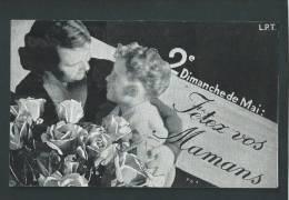 2e Dimanche De Mai, Fêtez Vos Maman. Voir Les 2 Scans. - Fête Des Mères