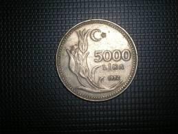 Turquia 5000 Lira 1992 (4815) - Turquia