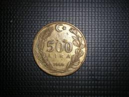 Turquia 500 Lira 1989(4818) - Turquia
