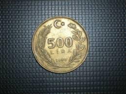 Turquia 500 Lira 1990 (4819) - Turquia