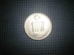 Turquia 100 Bin  Lira 2002(4825) - Turquia