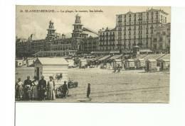Blankenberge La Plage Le Casino Les Hôtels - Blankenberge