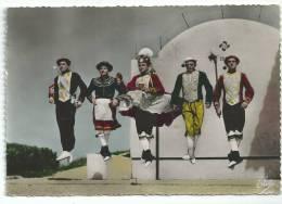 Ballet Basques De Biarritz OLDARRA, Les 5 Principaux Danseurs De La Mascarade Souletine , CPSM - Danses