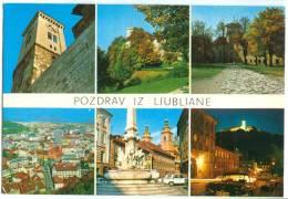 Slovenia, Pozdrav Iz Ljubljane, Unused Postcard [13316] - Slovenia