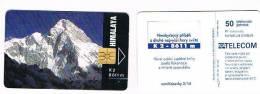 REPUBBLICA CECA (CZECH REPUBLIC) - SPT TELECOM CHIP - 1994 HIMALAYA: K2      N.70 / 08.94 - USED  - RIF. 3265 - Repubblica Ceca