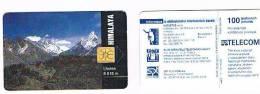 REPUBBLICA CECA (CZECH REPUBLIC) - SPT TELECOM CHIP - 1994 HIMALAYA: LHOTSE     N.1 / 11.94 - USED  -  RIF. 3267 - Repubblica Ceca