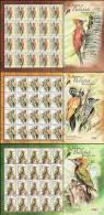 2013 SHEETLET Woodpecker Bird Stamp Malaysia MNH - Malaysia (1964-...)