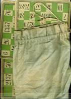 Ancien Jeu De Loto  Vintage  Sac D'origine  90 Pions En Buis 23 Cartes Vertes Plus 11 Cartes Jaunes Plus 11  Rouges BE - Jeux De Société
