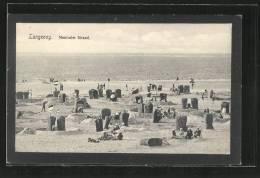 AK Langeoog, Neutraler Strand Mit Strandkörben - Langeoog