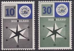 Pays-Bas - 1957 - Yv.no. 678-9, Neufs** - Europa-CEPT