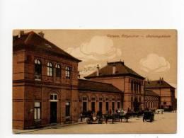 Versec  Vršac Werschetz Vârşet Pályaudvar állomás Bahnhof Stationsgebäude Railway Station - Serbia