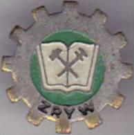 Poland Old Pin Badge - ZRYW - Badges