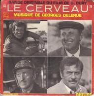 """B-O-F Georges Delerue / Belmondo / Bourvil / Niven / Wallach  """" Le Cerveau """" - Soundtracks, Film Music"""