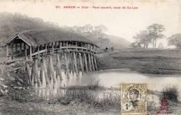 Annam - Vinh - Pont Couvert Route De Xa Lam - Vietnam