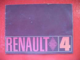 RENAULT 4 - Advertising