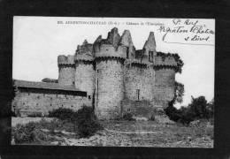 ARGENTON-CHATEAU - Château De L´Ebaupinay. - Argenton Chateau