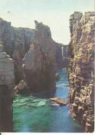 CI017 - Carloforte (Carbonia-Iglesias) - Isola Di San Pietro - Scogliera La Conca - Annullo Targhetta 250° Anniversario - Altre Città