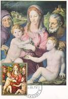 Carte-Maximum PARAGUAY  / Bronzino / La Sainte Famille - Paraguay