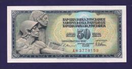 YUGOSLAVIA 1981,  Banknote , UNC, 50 Dinara, Km 89 - Yugoslavia