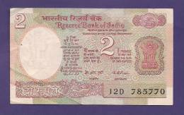 INDIA 1975,  Banknote, USED VF, 2 Rupees, Signed Puri, Km79a - India