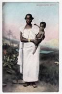 AFRICA EGYPT NEGRESSE WITH CHILD LICHTENSTERN & HARARI CAIRO Nr. 148 OLD POSTCARD - Other